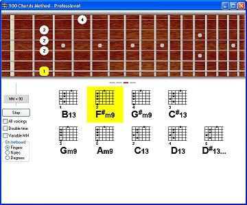 100 Chords Method - play-along exercise